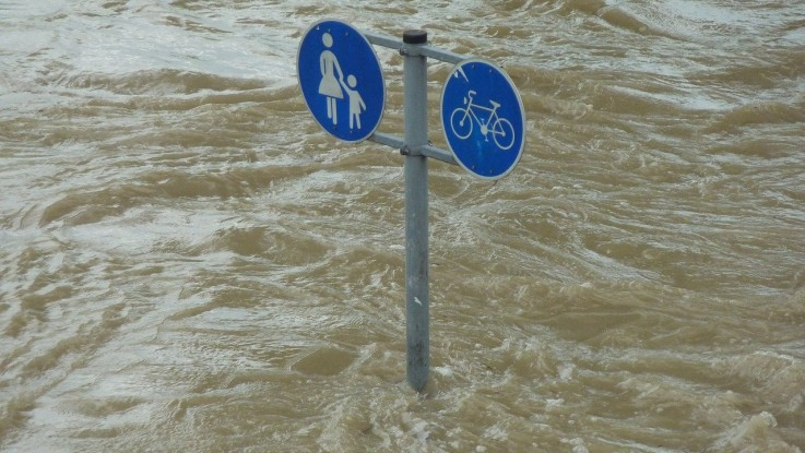 Floods, one of the major consequences of climate change