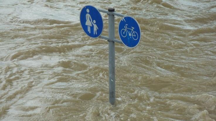 Les inondations, une des conséquences majeures du changement climatique